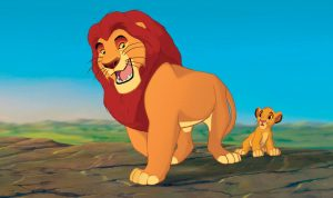 """THE LION KING"" (L-R) Mufasa, Simba ??Disney Enterprises, Inc. All Rights Reserved."