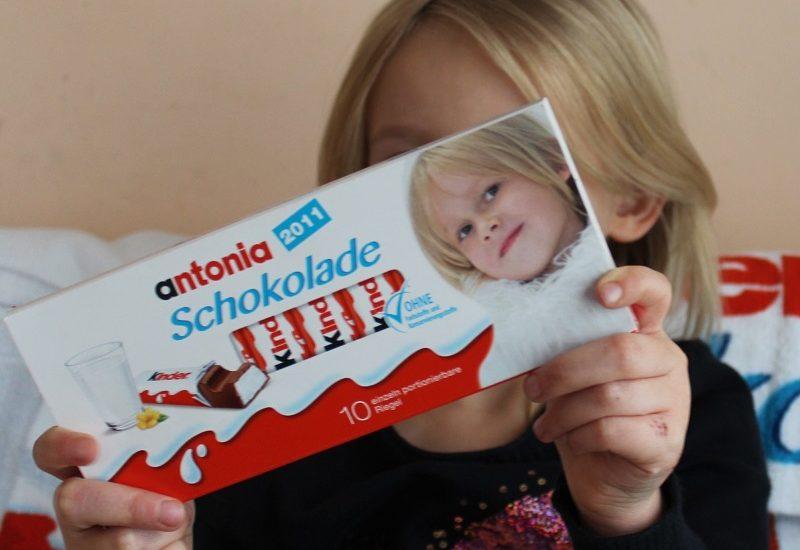 Dein Gesicht Auf Der Kinder Schokolade Mit Gewinnspiel Mama Und
