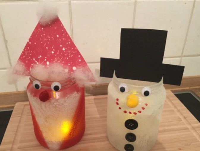 Winter Und Weihnachts Diy So Bastelst Du Lustige